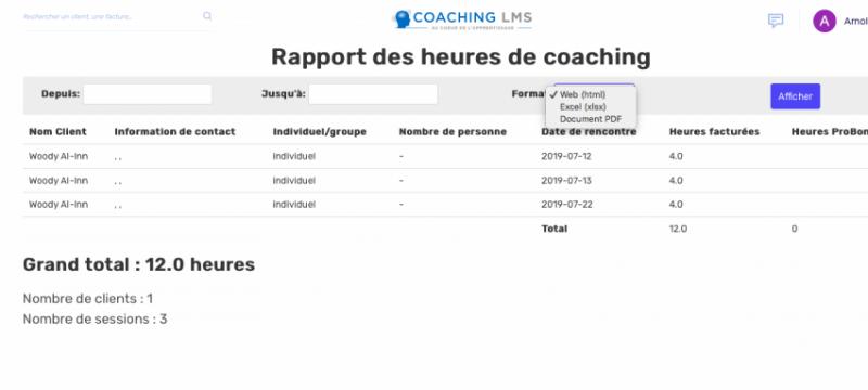 Rapport-coaching