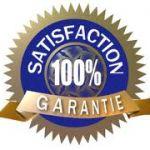 Satisfaction garantie!